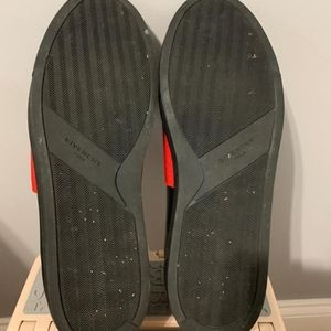 Givenchy Shoes - Givenchy Men's Black/Red Slip-on Sneaker (Size 14)